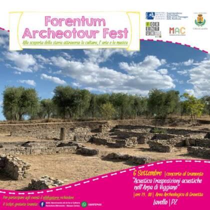 Lavello-Chiusura del Forentum Archeotour Fest